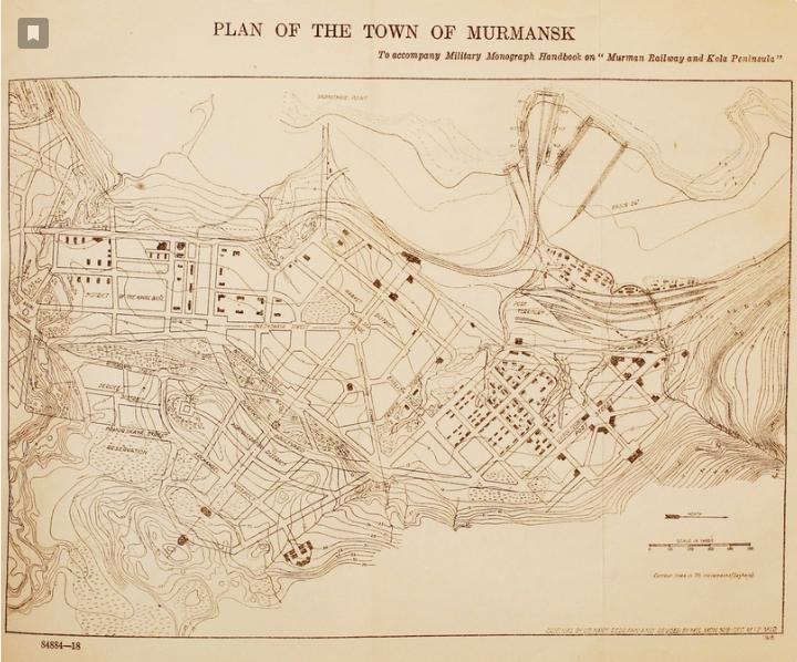Реконструкция местности или прогулки по Мурманску 1915 года