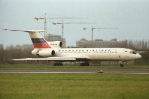 1998 - Murmansk Airlines, Туполев Ту-154М Бортовой RA-85733
